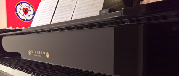 Schimmel piano at CVLC